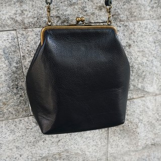Sienna elegant mouth gold bag