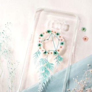 Pressed Flower Dreamcatcher Phone Case | Android Models