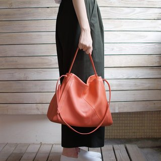 Everyday Bag-bright tangerine