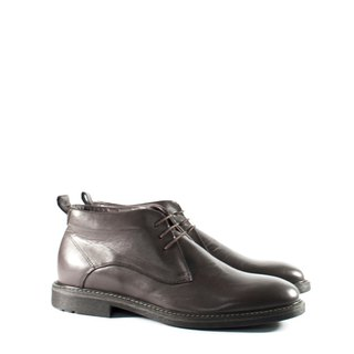 ITA BOTTEGA[Made in Italy]Deep Brown Derby Booties