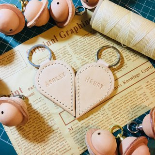 Couple key ring customized key ring Valentine's Day gift pair of sniffing hand made