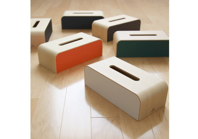 Japan yamato japan handmade wooden nordic style color box surface box-six colors