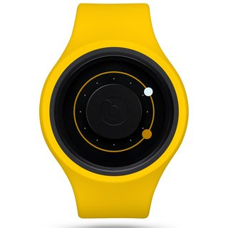 Universe track + series watch ORBIT PLUS + (banana yellow / Banana)