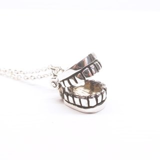 Ermao Silver [Big Series - Active Denture Necklace]
