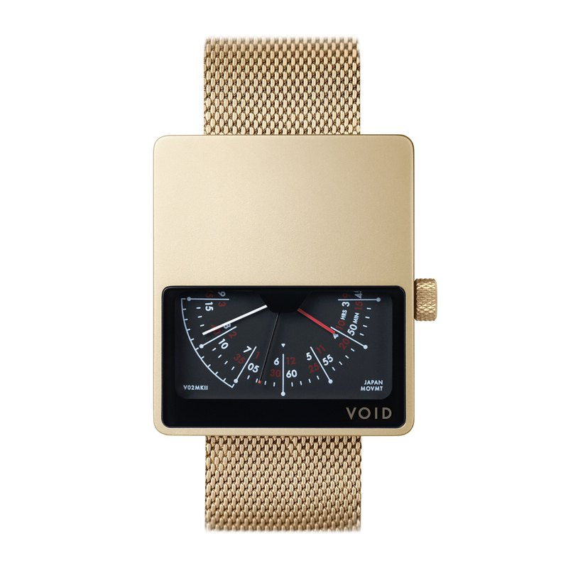 V02MKII-GO/MG 手錶