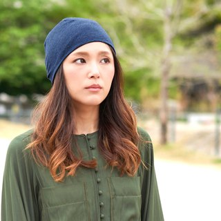 100% Organic Cotton Beanie Made in Japan Summer Winter Men & Women Snug Fit