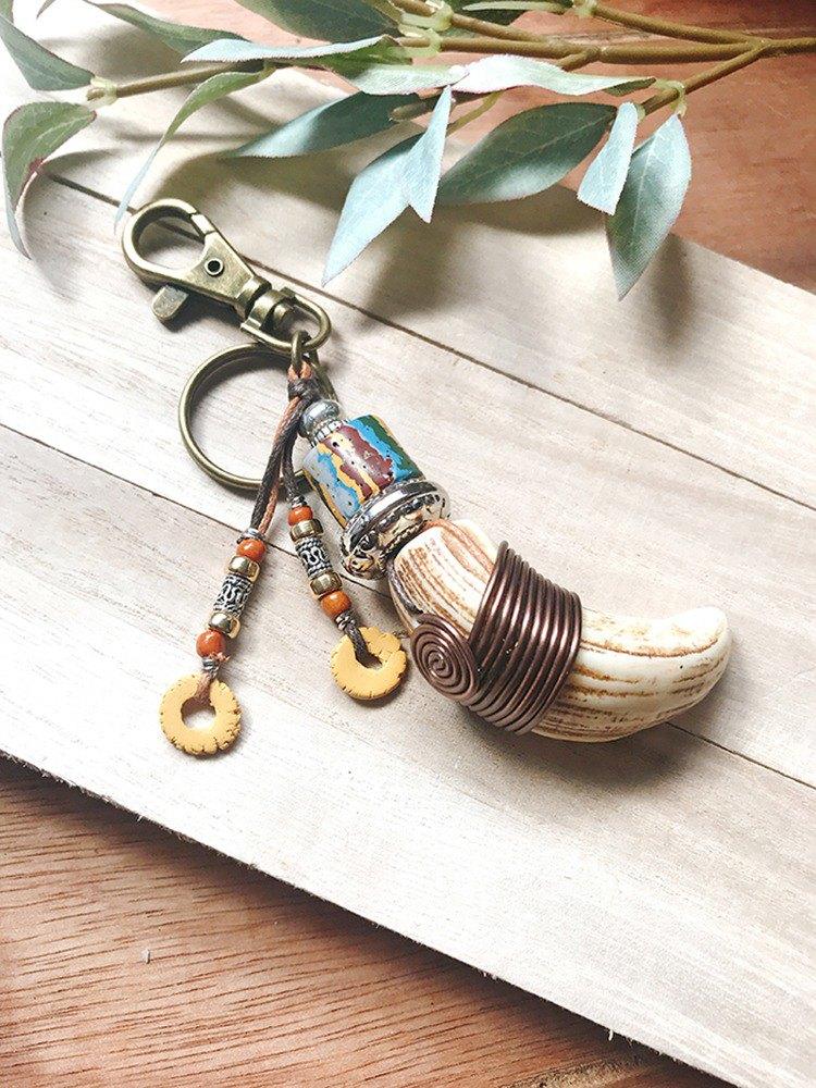 Taughguy鐵漢臼齒鑰匙圈