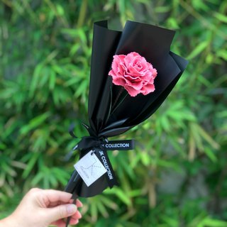 Leather Carnation Bouquet