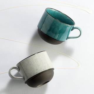 There is a kind of creativity - Japan Meinong - Breeze and Rain Coffee Cup Set (2 pieces)