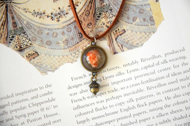 The Autumn Acorn Handmade Necklace