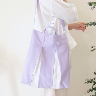 Lavender UV Cotton Cool Slim Light Bag (Shoulder/Shoulder/Handheld)