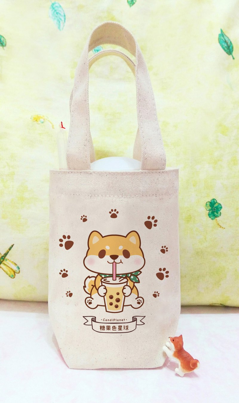 Chaichai drinks precious milk. Environmentally friendly small bag / beverage bag