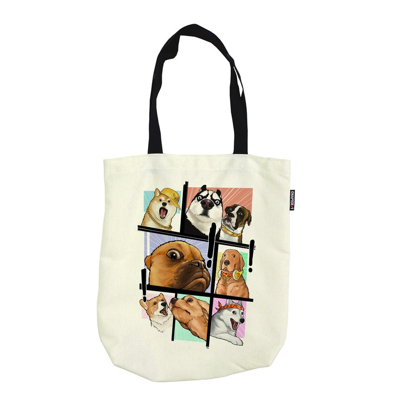 Oh! my dog Foldable shoulder bag Canvas Reduce global warming