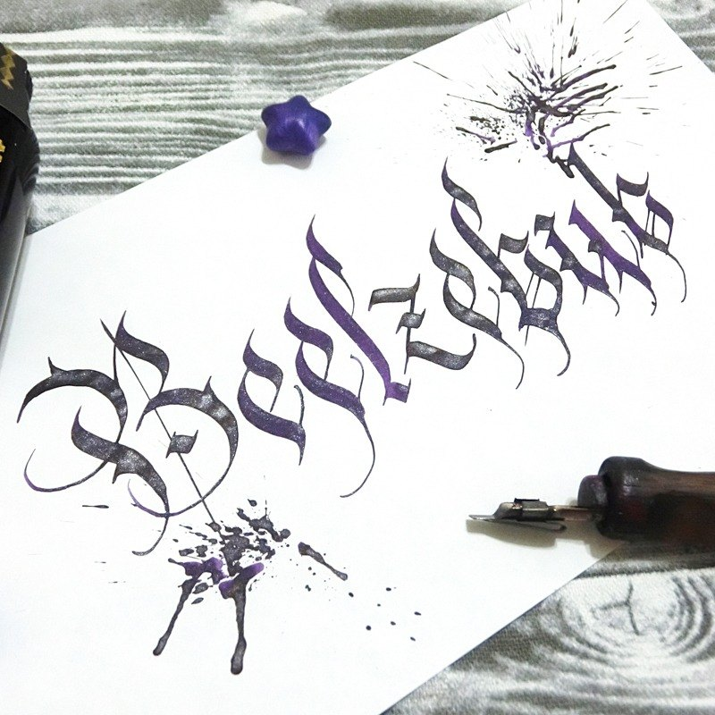 [hand ink] Devil Series - Ba Li Si Bu