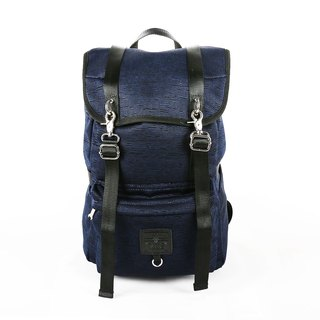 RITE City Series - Jun bag bag (L) - Shuttle black and blue