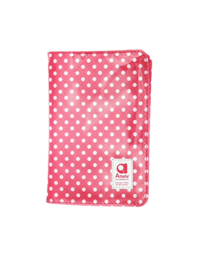 Mizutama classic Passport holder - Pink