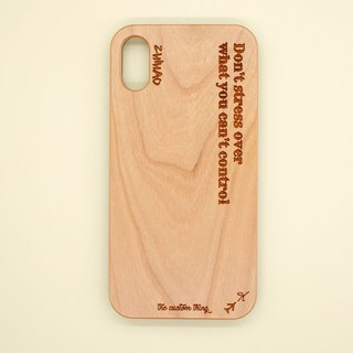 Cherry wood customized mobile phone shell
