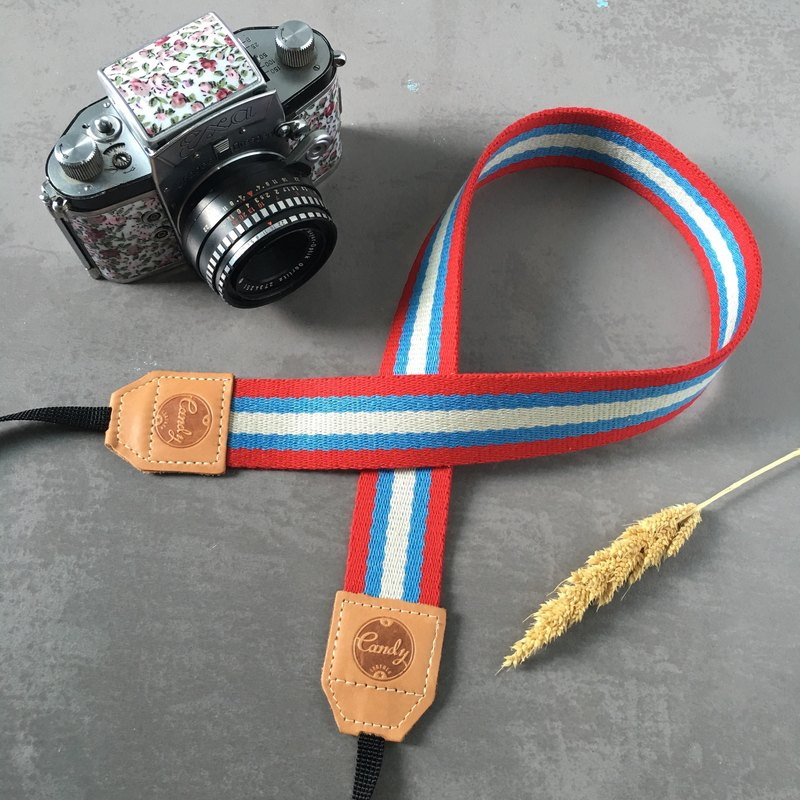 Red Mix  Mirrorless or DSLR Camera Strap