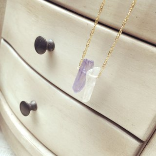 Spring color crystal long chain