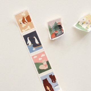 Dailylike Stamp Paper Tape (single roll)-05 Animal 2, E2D07440