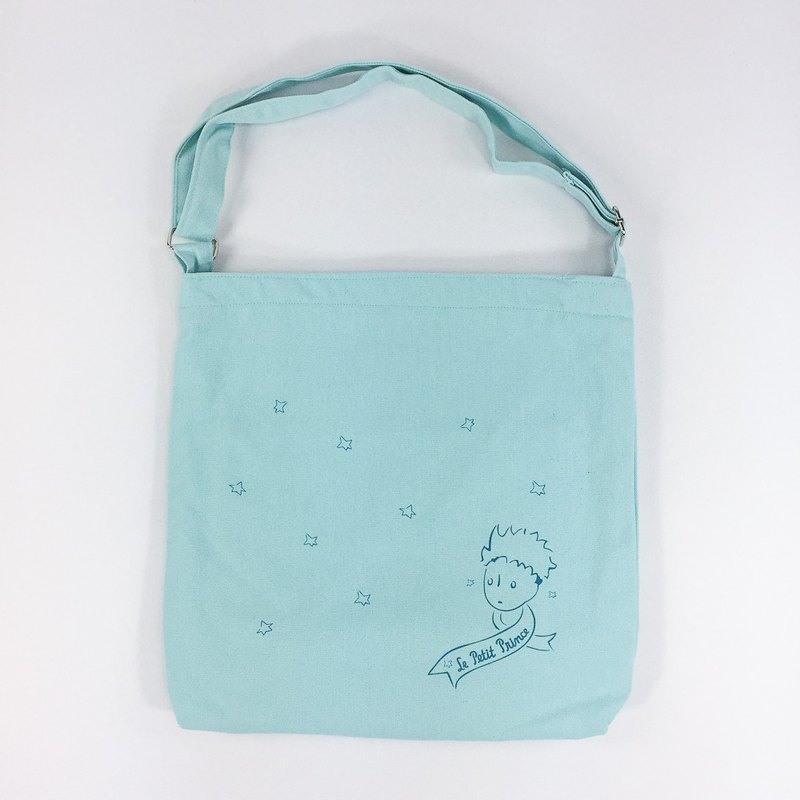 Little Prince classic license - zipper shoulder bag (light green), CB10AA04