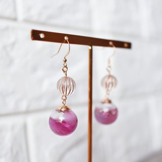 Eternal Flower collection - Crystal Ball earrings