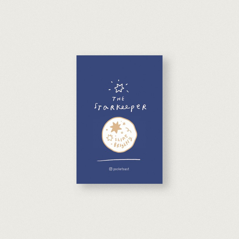The Star Keeper Enamel Pin