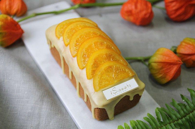 橙意滿滿 | 香橙鳳梨磅蛋糕