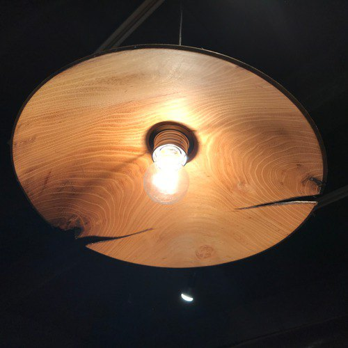 Pendant light by Locust tree 1