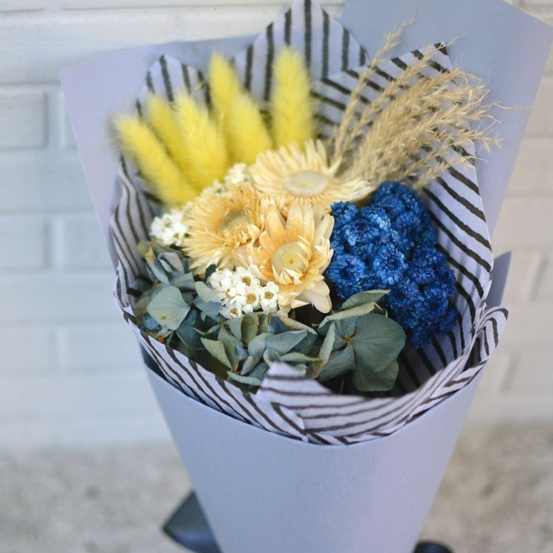 Blueberry Night - Dry Bouquet