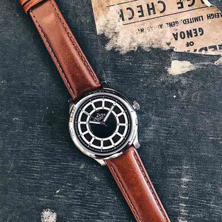 Camden Watch pure British bloodline color jump large scale roulette leather watch