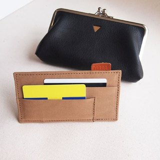 Card partition case for Triangle Long wallet card case