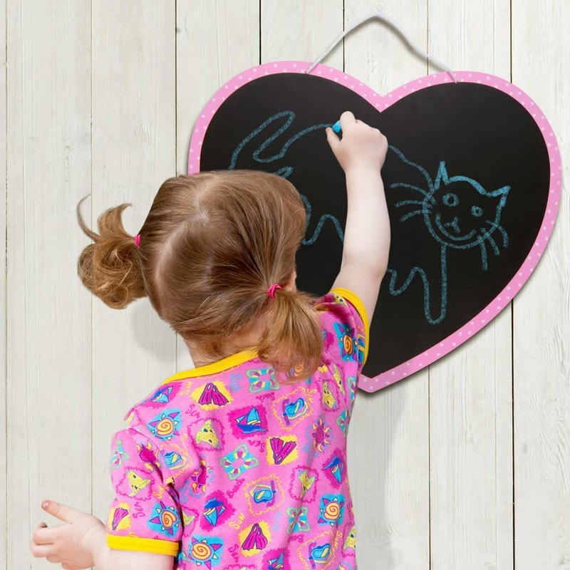 UK Fiesta good toy - Love modeling blackboard Heart Chalkboard
