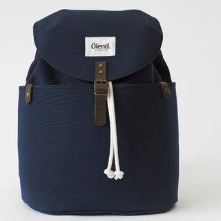 |Spanish handmade | Ölend Ringo canvas backpack/computer bag (Navy Navy)