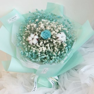 Tiffany perfume bouquet eternal love meet happiness eternal dry flower bouquet Valentine's Day bouquet