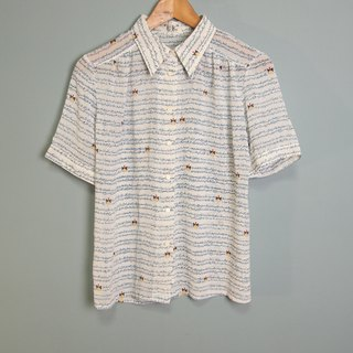 FOAK Vintage Arab Lawrence Short Sleeve Shirt