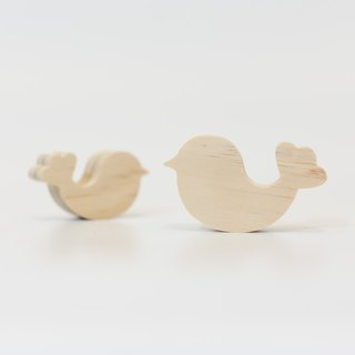 wagaZOO hand cut thick styling blocks sky series - flower tail bird