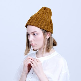 Made in Japan twist knitted wool cap