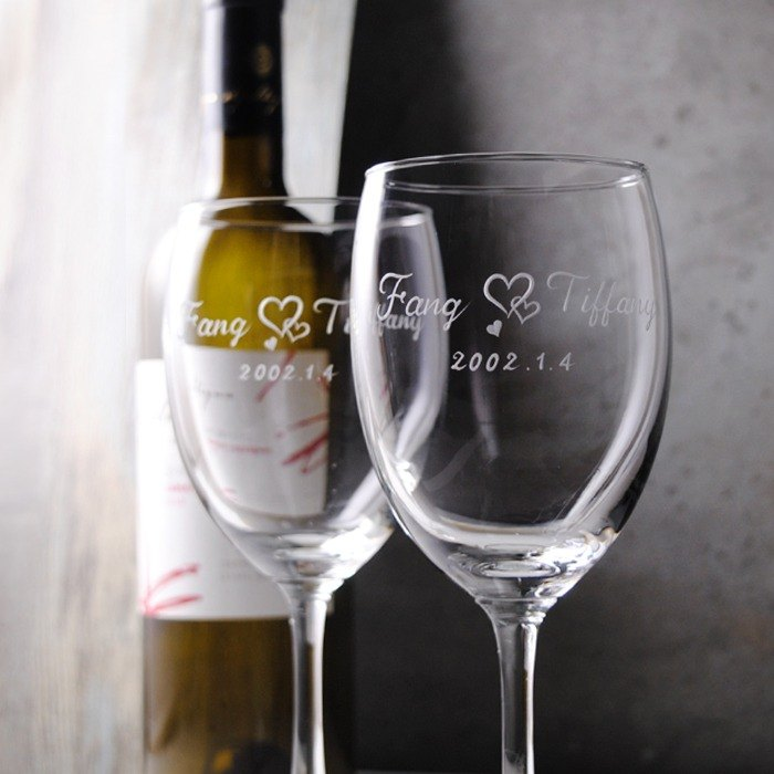 270cc (a pair of prices) [customized marriage to the cup] Happy Wedding red wine to the cup Valentine's Day