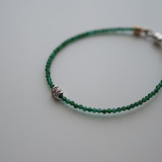 The Alamein South Bracelet -B102-semi precious,emerald,gift