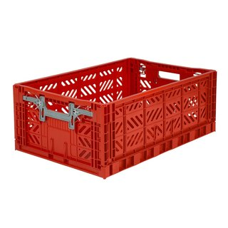 Turkey Aykasa Folding Storage Basket (L) - Red