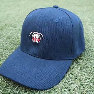 Navy HoHo Embroidered Cap