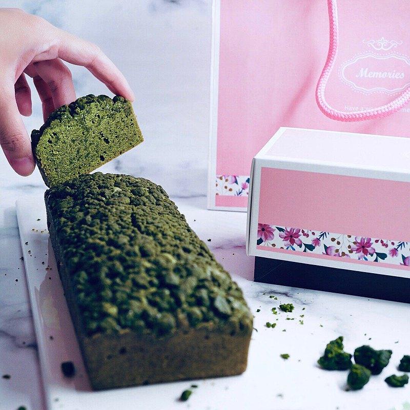 【迷那蛋糕】小山園抹茶奶酥磅蛋糕禮盒