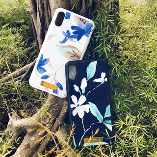 Cloth Fabric Fabric Flower Mobile Shell - lily (iphone X/8plus/8/7/7plus/6plus/6)
