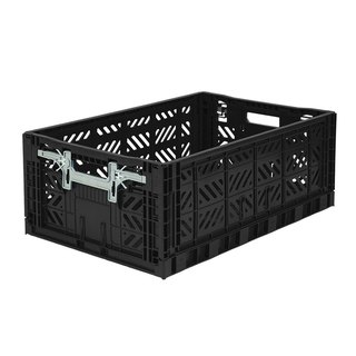 Turkey Aykasa folding basket (L) - black