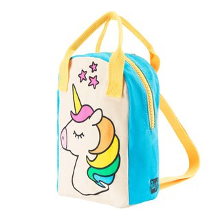 Canadian Fluf Organic Cotton [Handbag]--Rainbow Unicorn
