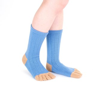 vari pattern 5toe socks