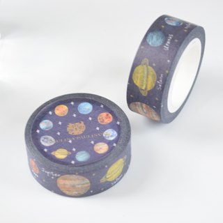 Galaxy Collection-Galaxy Masking Tape 1.5cm/10m