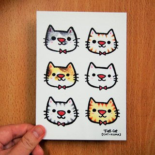 Postcards - as long as cute is a good cat