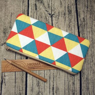 Large Zipper Pouch, Pencil Pouch, Gadget Bag, Cosmetic Bag (ZL-6)